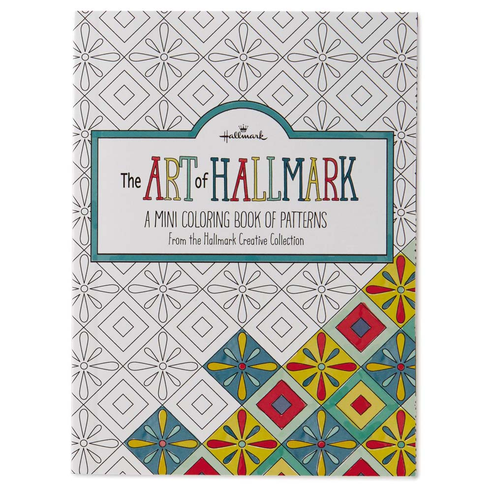 Hallmark The Art of Hallmark, A Mini Coloring Book of Patterns
