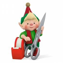 Hallmark North Pole Tree Trimmers Elf Ornament