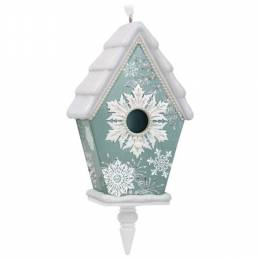 Hallmark Beautiful Birdhouse Ornament