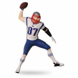 Hallmark Rob Gronkowski New England Patriots Football Legends Ornament