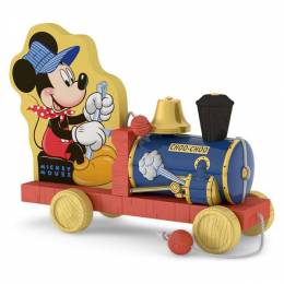 Hallmark Choo-Choo Mickey Mouse Train Ornament