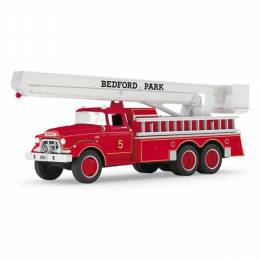 Hallmark 1959 GMC Fire Engine Fire Brigade Ornament With Lights