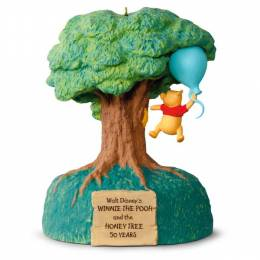Hallmark Disney Winnie the Pooh and the Honey Tree 50th Anniversary Music and Motion Ornament