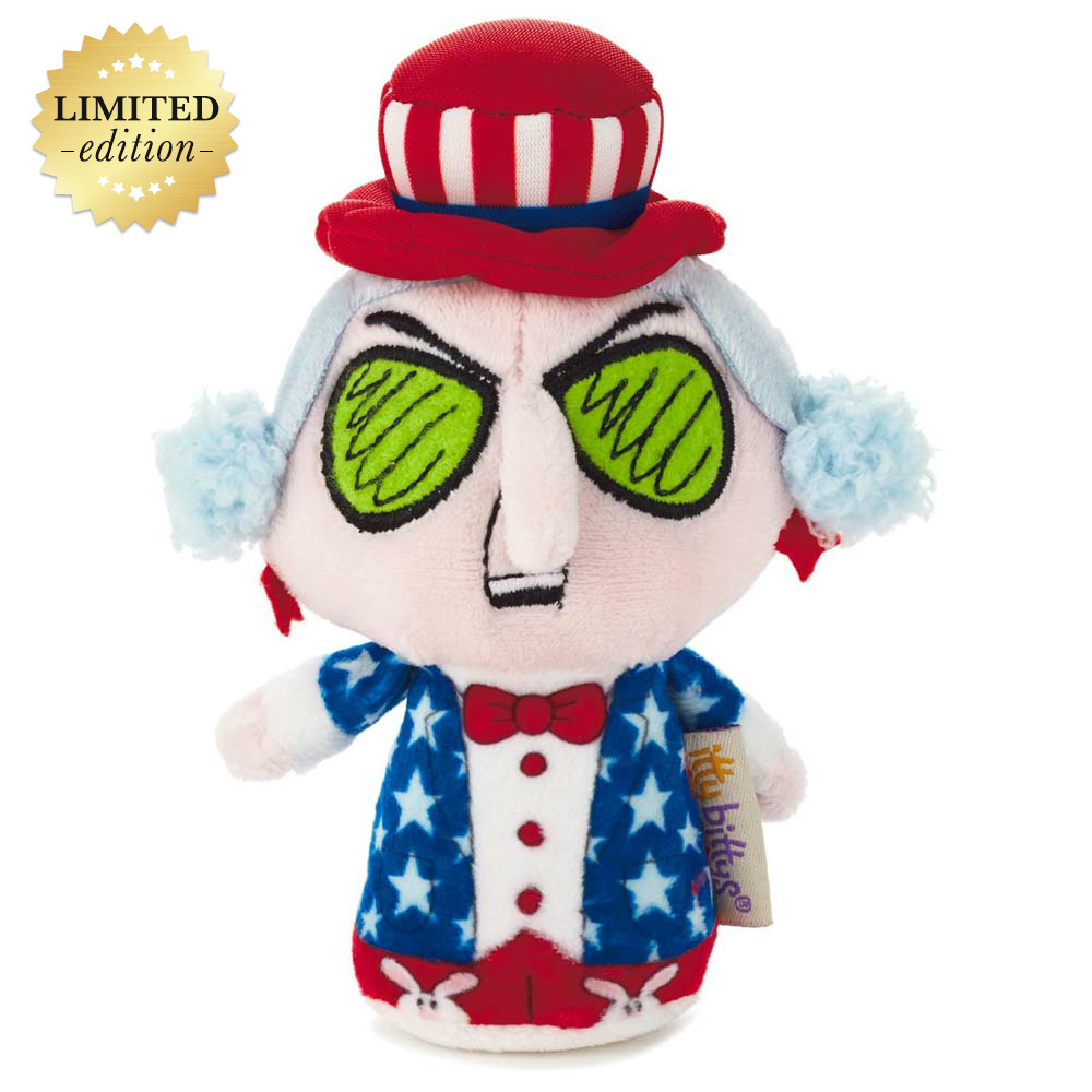Hallmark itty bittys® Maxine Stars and Stripes Stuffed Animal, Limited Edition