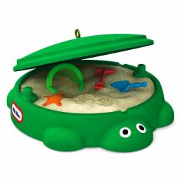 Hallmark Little Tikes Turtle Sandbox Mini Ornament