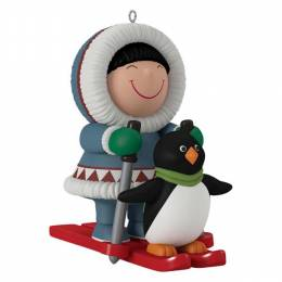 Hallmark Frosty Little Friends Mini Ornament