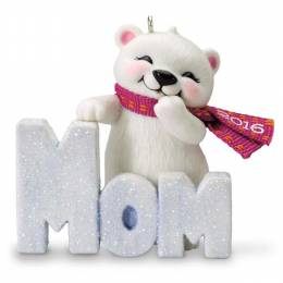 Hallmark Polar Bear Mom Ornament