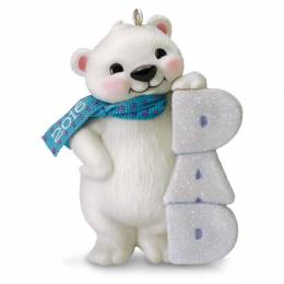Hallmark Polar Bear Dad Ornament