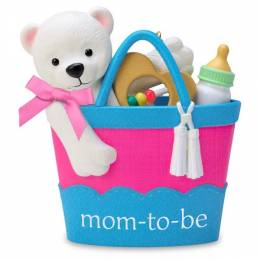 Hallmark Mom-to-Be Basket Ornament