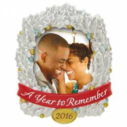Hallmark A Year to Remember Photo Holder Ornament