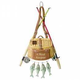 Hallmark A Reel Keeper Fishing Ornament