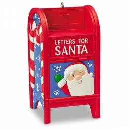 Hallmark Letters for Santa Mailbox Ornament