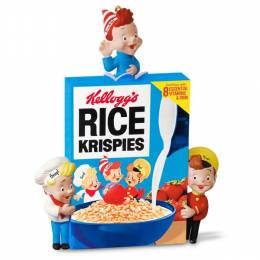 Hallmark Snap, Crackle & Pop Rice Krispies Cereal Ornament