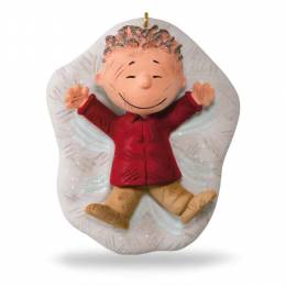 Hallmark The PEANUTS Gang Pig-Pen's Snow Angel Ornament