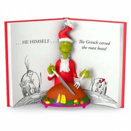 Hallmark Dr. Seuss The Grinch Carved the Roast Beast Ornament