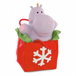 Hallmark I Want a Hippopotamus for Christmas Musical Ornament
