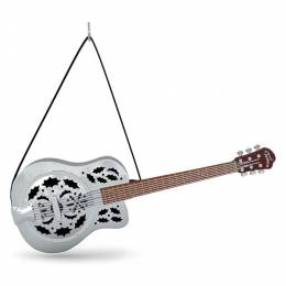 Hallmark Up on the Housetop Guitar Musical Ornament