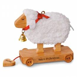 Hallmark Little Lamb Baby's First Christmas Ornament
