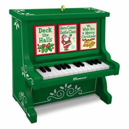 Hallmark Caroling Piano Musical Ornament