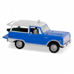 Hallmark All-American Trucks Ford Bronco Ornament