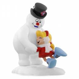 Hallmark A WARM FROSTY HUG FROSTY THE SNOWMAN AND KAREN Ornament