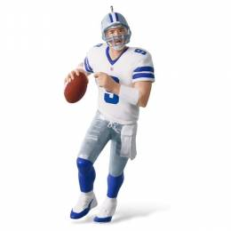 Hallmark NFL Dallas Cowboys Tony Romo Ornament