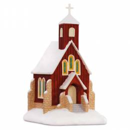 Hallmark O Holy Night Church Musical Ornament