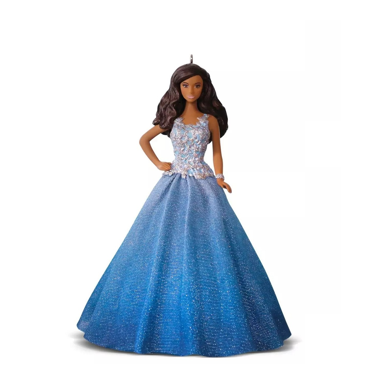 Hallmark African-American Holiday Barbie Ornament
