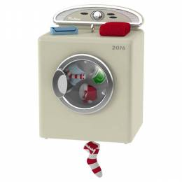 Hallmark Santa's Dandy Dryer Ornament With Light and Motion