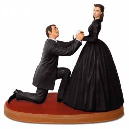 Hallmark GONE WITH THE WIND An Honorable Proposal With Rhett and Scarlett Ornament With Sound