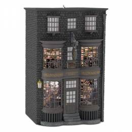 Hallmark HARRY POTTER Ollivanders Wand Shop Ornament