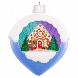 Hallmark A Sweet Surprise Christmas Ball Musical Ornament With Light