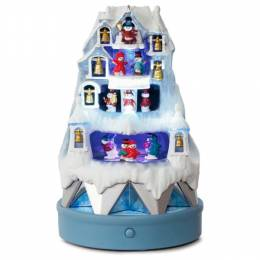 Hallmark Winter Wonderland Musical Ice Castle Ornament With Light and Motion