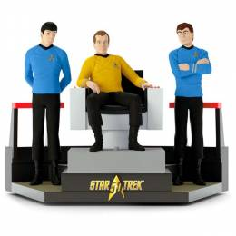 Hallmark STAR TREK 50th Anniversary To Boldly Go Decoration With Light and Sound