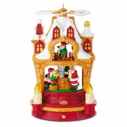 Hallmark Where Dreams Become Toys Santa Musical Decoration With Light and Motion