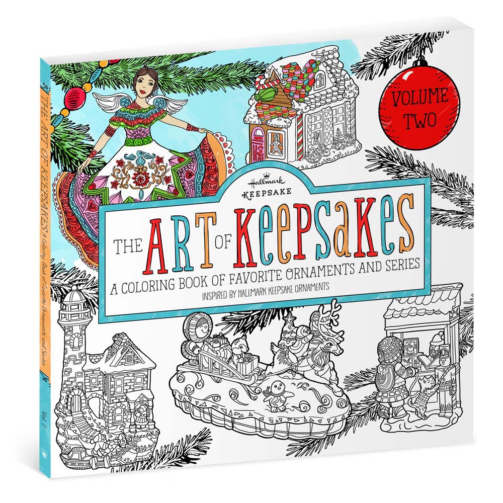 Hallmark The Art of Keepsakes: Volume 2 Coloring Book for Adults