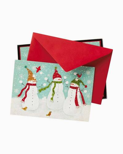 Snowball Fight Christmas Cards, Box of 16