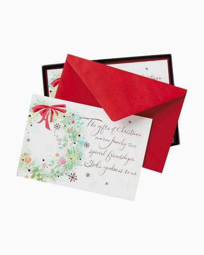 Holiday Gifts Christmas Cards, Box of 16