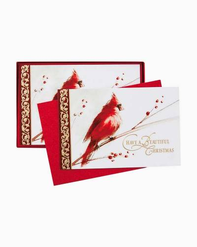 Season of Beauty Christmas Cards, Box of 40
