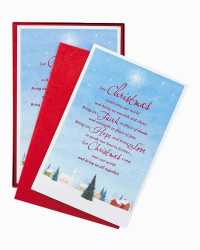 Warmth and Cheer Christmas Cards, Box of 40