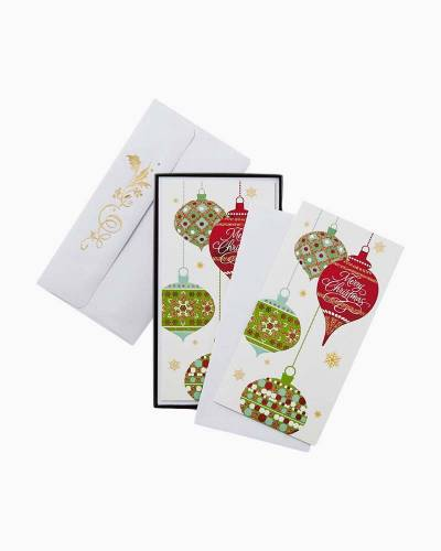 Dangling Ornaments Christmas Cards, Box of 16