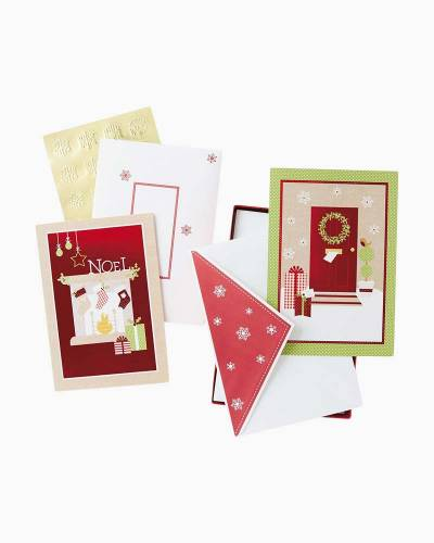 Sweet Memories Assorted Christmas Cards, Box of 40
