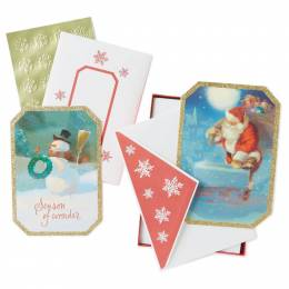 Hallmark Gift of Joy Assorted Christmas Cards, Box of 40