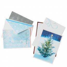 Hallmark Christmas Blessings Assorted Greeting Cards, Box of 40