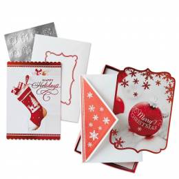 Hallmark Holiday Wishes Assorted Christmas Cards, Box of 40