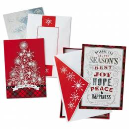 Hallmark All the Best Assorted Christmas Cards, Box of 40