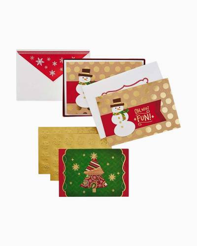 Oh What Fun Assorted Christmas Cards, Box of 40