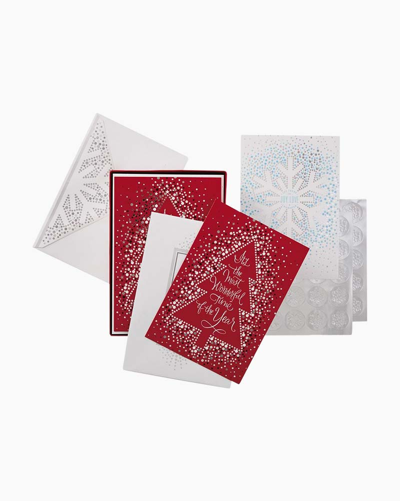 Hallmark Joy and Love Assorted Christmas Cards, Box of 40   The ...