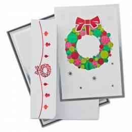 Hallmark Cheers to Christmas Holiday Cards, Box of 12