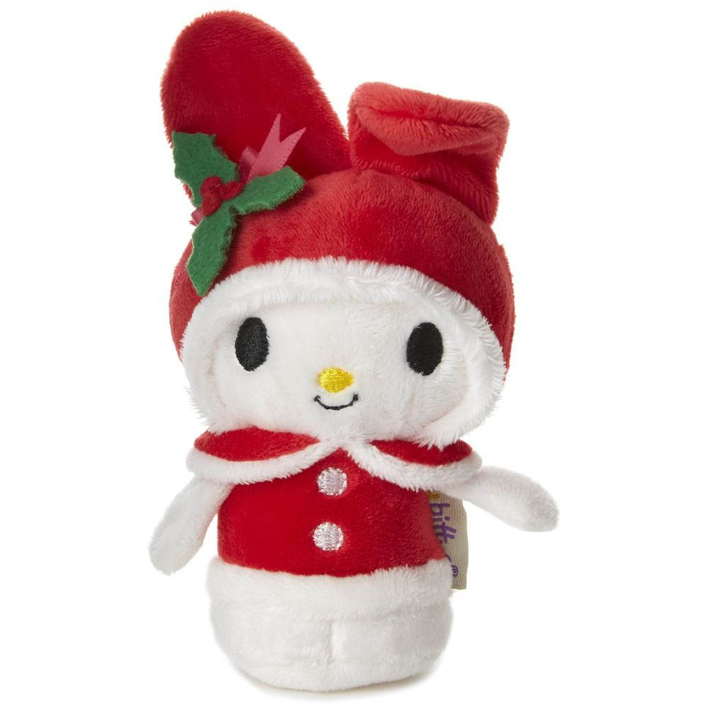 Hallmark itty bittys My Melody Limited Edition Holiday Stuffed Animal